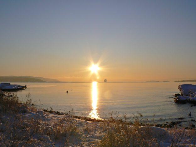 Sollyset - bevissthetens lys - stråler ut til de som er mottakelige for å lades.